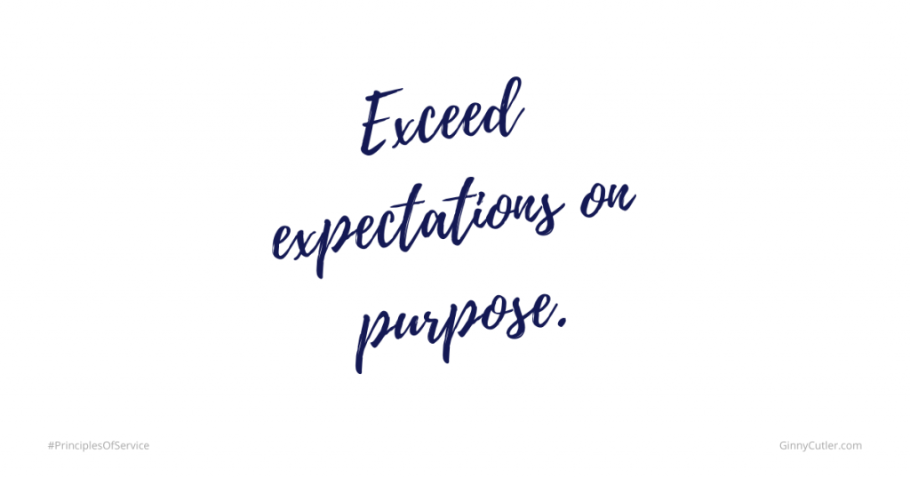 Exceed Expectations on Purpose